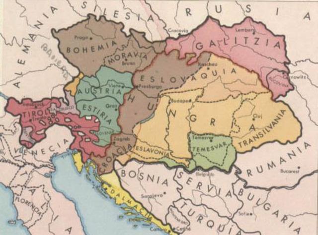 Austria – Hungría declara la guerra
