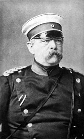 Dimisión de Bismarck.