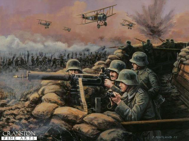 El fracaso de la ofensiva Alemana