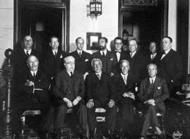 Reunión de San Sebastián de dirigentes republicanos