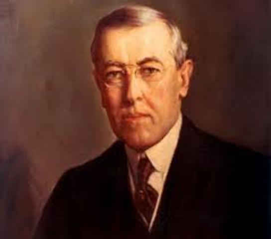 Wilson formuló los catorce puntos
