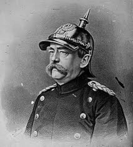 Dimición del Canciller Bismarck
