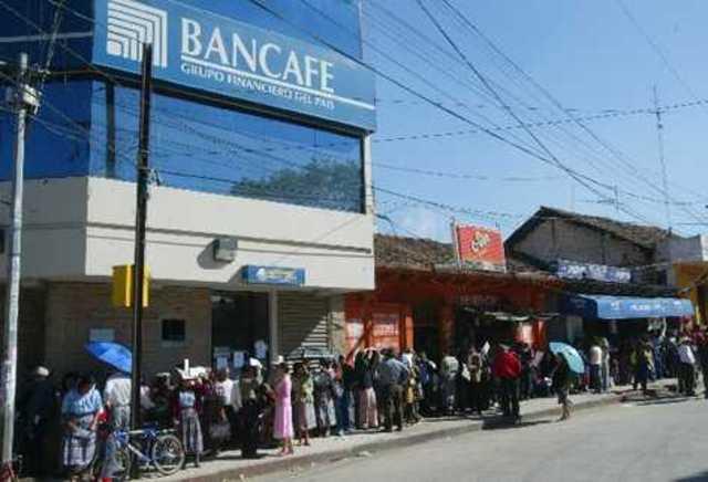 Cierre de operaciones de Bancafé en Guatemala