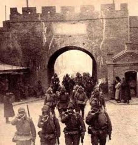 Creación de Manchuria