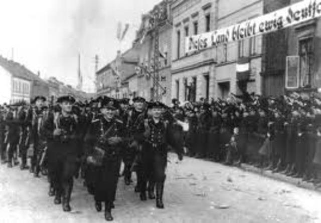Hitler ocupó la ciudad de Memel