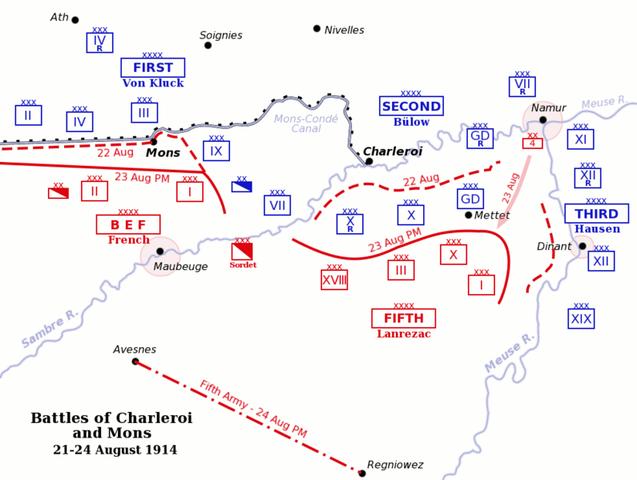 Batalla del Sambre