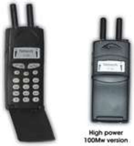 1990 Cell phone and useage.