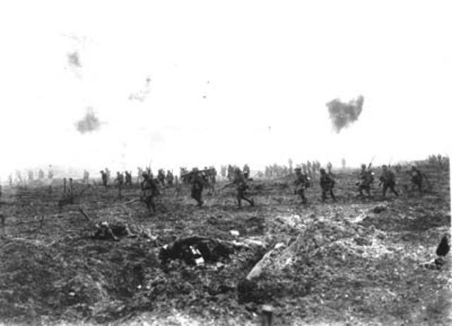 Última ofensiva alemana.
