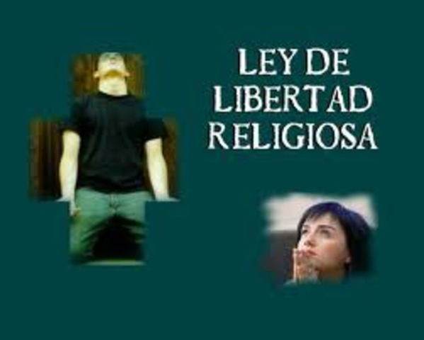 El gobierno proclama la libertad religiosa