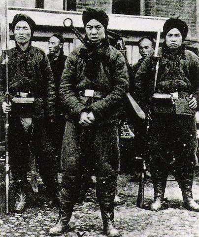 Revolución antiimperialista de los bóxers en China