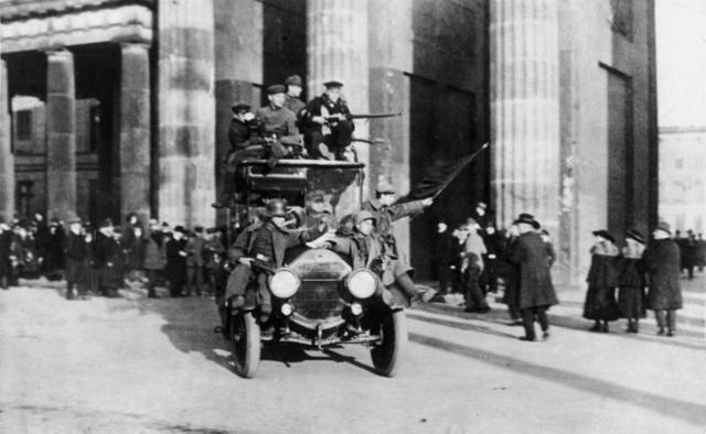 La revolución de noviembre de 1918 en Alemania