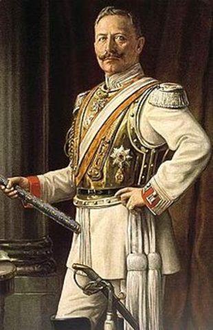 Abdicación del Káiser Guillermo II