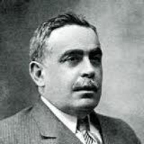 Josquín Chapaprieta, presidente del Gobierno.