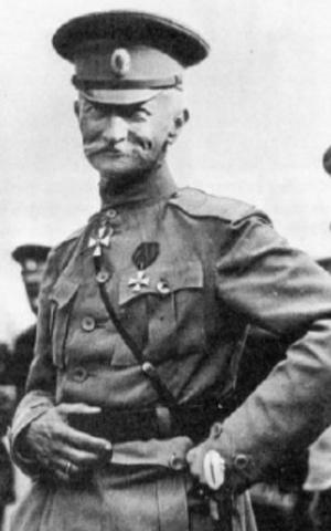 Éxito una ofensiva rusa dirigida por el General Brusílov