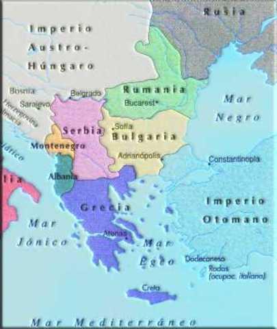Crisis Balcánica de 1912