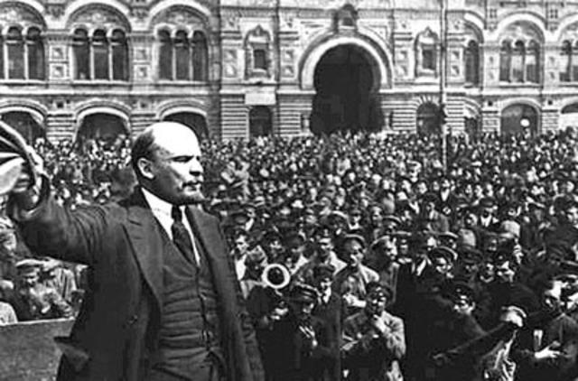 Regreso de Lenin