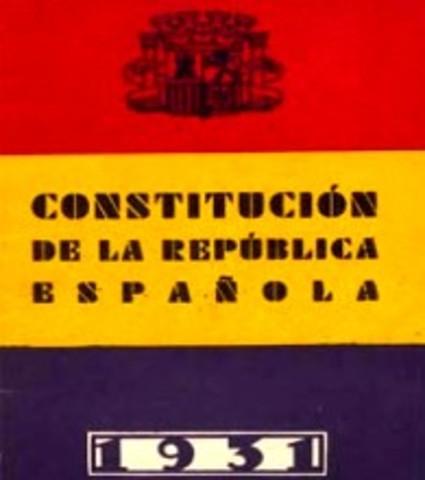 Fin de la Constitución Española de 1931