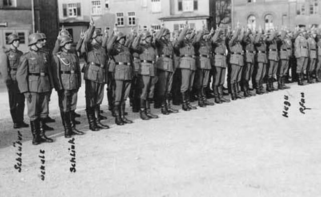Servicio militar en Alemania