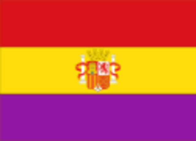 La unión del rojo, el amarillo y el morado en tres franjas de igual tamaño se hace oficial
