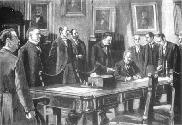 Los tratados de paz