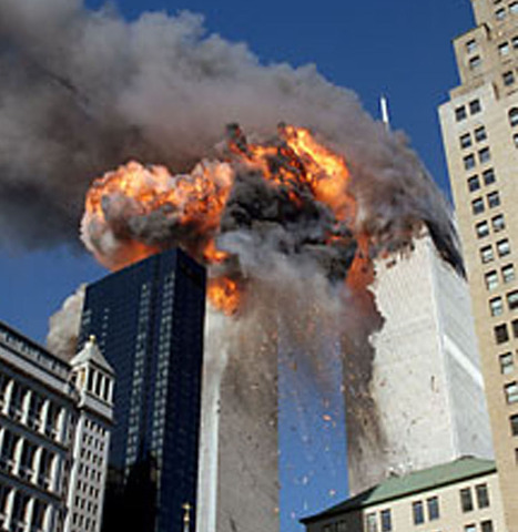 Caida del World Trade Center