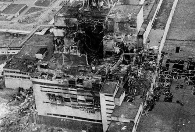 Accidente Nueclear de Chernóbil