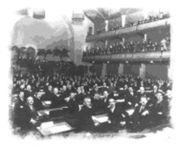 Creación de la Sociedad de Naciones