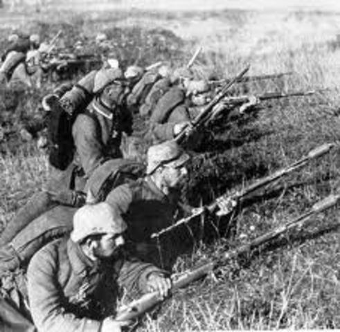 Comienza la Batalla de Marne