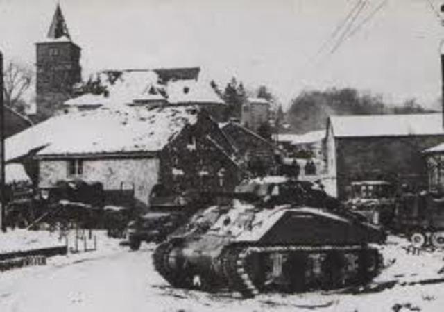 Cenden las tropas Alemanas