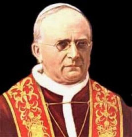 El papa Pío XI publica la encíclica Quadragesimo Anno