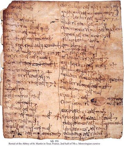 Merovingian Script [Example]