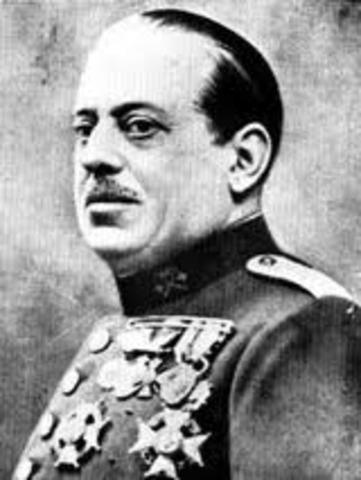 sublevación del general Sanjurjo