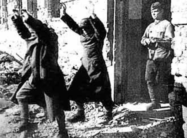 Derrota Alemana en Stalingrado
