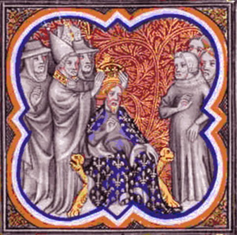 Charlemagne Crowned Holy Roman Emperor