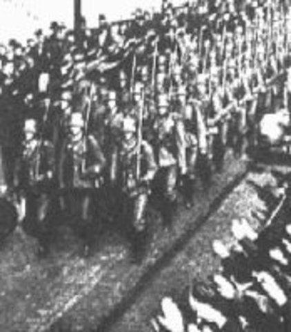 Remilitarización alemana.