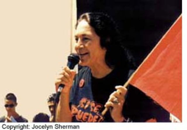 Huerta helps create the United Farm Workers Organizing Committee