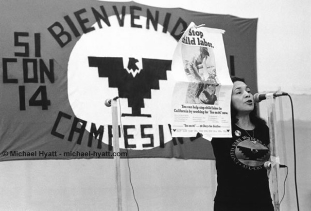 Huerta resigns as Vice President of UFW
