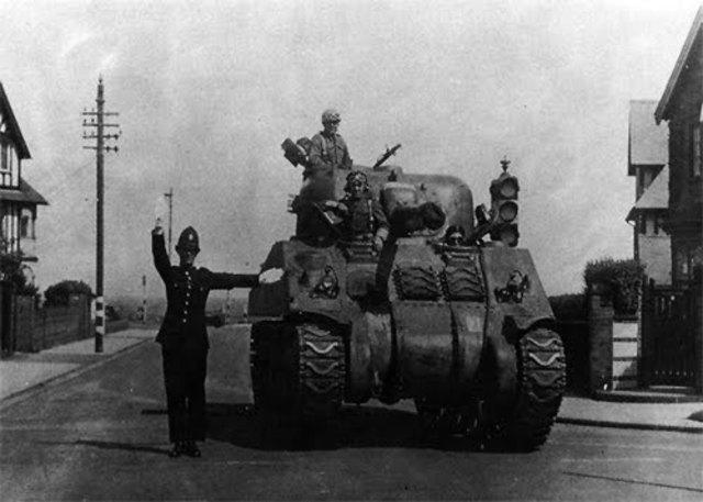 Pacto anglo-polaco, una alianza militar.