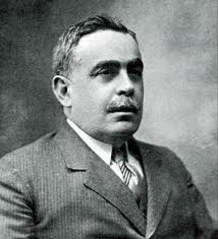 Joaquín Chapaprieta, presidente del Gobierno