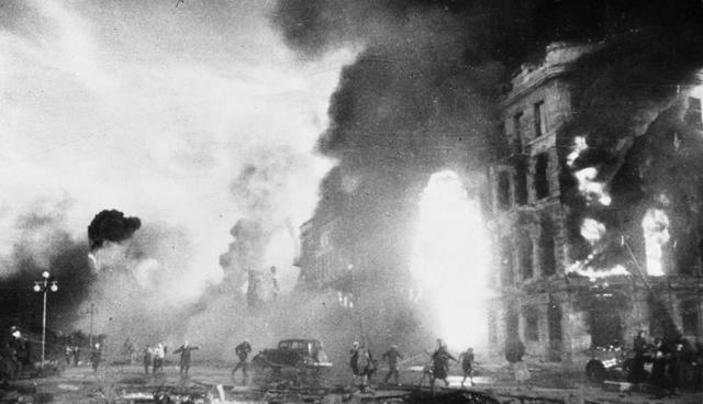 Rendición de los alemanes en Stalingrado