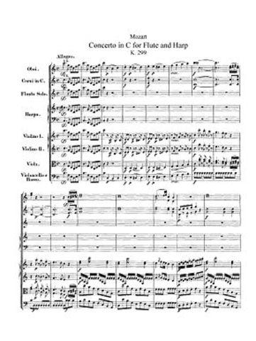 Concierto para arpa y flauta