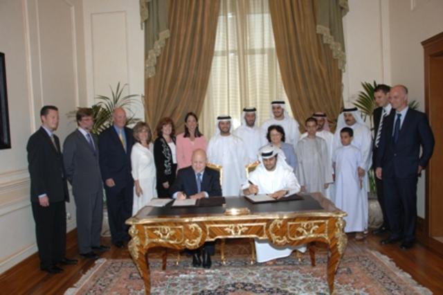 Abu Dhabi campus opens!