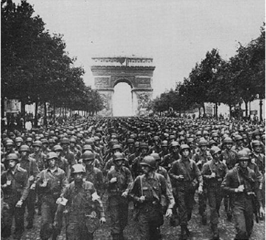 Levantamiento francés contra los alemanes.