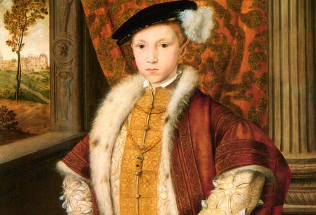 Edward VI ascends to the Throne.