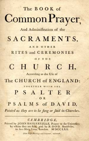 First Book of Common Prayer introduced.