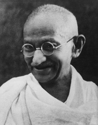 Muere Gandhi