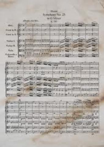 Sinfonía No. 25 en Sol menor_
