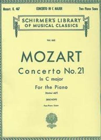 Concierto para piano no. 21 en Do mayor