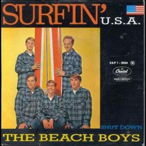 "The Beach Boys release ""Surfin' USA"""