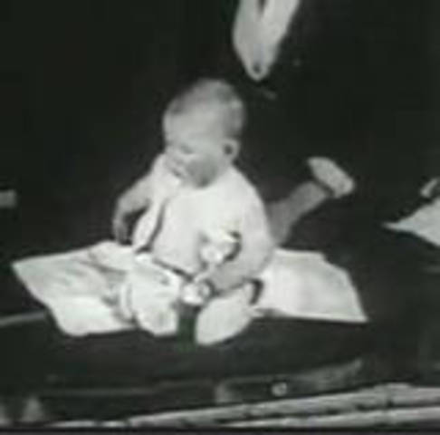 1920 - Watson and Rosalie Rayner publish research the classical conditioning of fear with their subject, Little Albert.(BEHAVIOURISM)